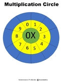 Multiplication Circle Bundle 0-12 - In Color