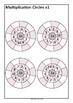 Multiplication Circles - Muliplication to 10