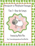 """Multiplication - Circles and """"Spring Things"""" Practice Book"""
