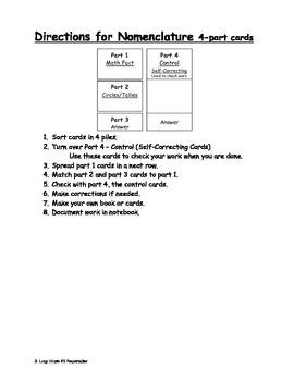 Multiplication Circles and Tallies - 15 facts BUNDLE