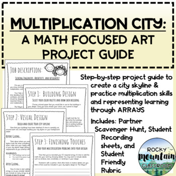 Multiplication City - A Math-Focused Art Project Guide