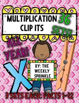 Multiplication Clip Its