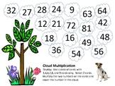 Multiplication Cloud Game