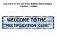Multiplication Club Bulletin Board Set ~ FREEBIE