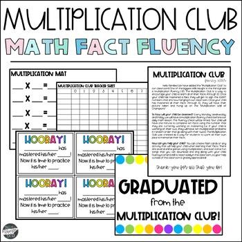 Multiplication Club Decor Set