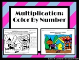 Multiplication: Color By Number Activity