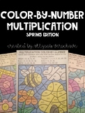 Multiplication Color-By-Number: Spring Edition