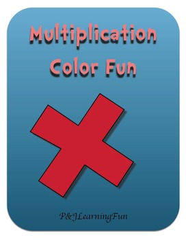 Multiplication Color Fun