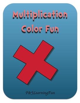 Multiplication Color Fun