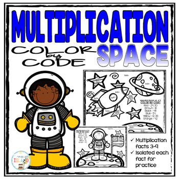 Multiplication Color by Code