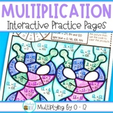 Multiplication Color by Code Worksheets