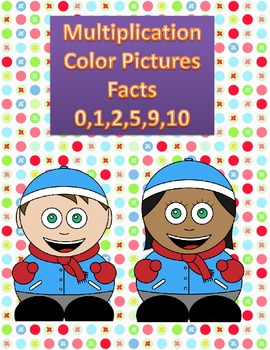 Multiplication Color by Number-