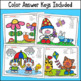 Multiplication Color by Number (2's to 12's) - Spring Edition