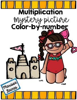 Multiplication Color-by-Number
