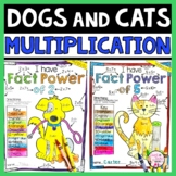 Math Facts Fluency | Multiplication Coloring Worksheet