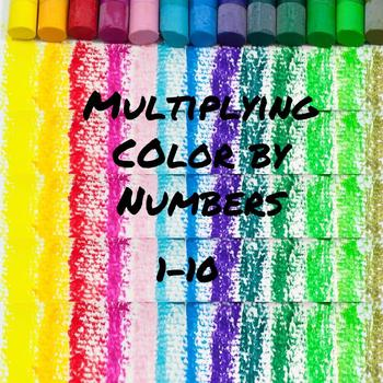 Multiplication Color by Numbers
