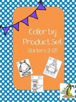 Multiplication Color by Product Set