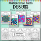 Multiplication Coloring Worksheets Designs Solve and Color