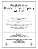 Multiplication Commutative Property Go Fish