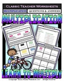 Commutative Property of Multiplication-Using Pictures-Grades 3-4 (3rd-4th Grade)