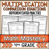 multiplicative comparison worksheet teaching resources teachers pay teachers. Black Bedroom Furniture Sets. Home Design Ideas