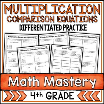 Multiplication Comparison and Equations (4th Grade Common