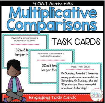Multiplication Comparisons Task Cards