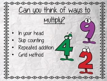 Multiplication Complete Week Unit