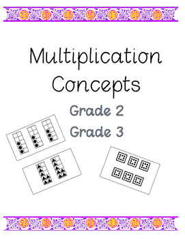 Multiplication Concepts Grades 2, 3
