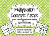 Multiplication Concepts Puzzle