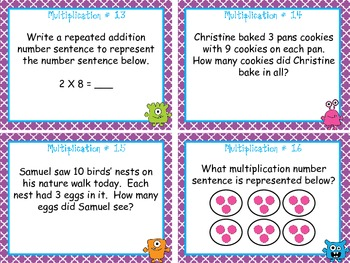 Multiplication Concepts & Word Problems