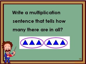 Multiplication Concepts and Facts Review and Test Prep
