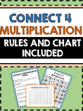 Multiplication Connect 4 (Includes Rules and Chart) - Conn