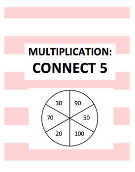 Multiplication Game:Connect Five
