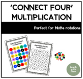 Multiplication 'Connect Four' Game