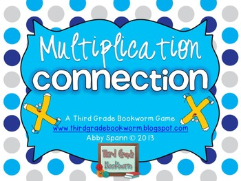 Multiplication Connection {A Fact Fluency Game}