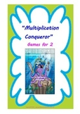 Multiplication Conqueror - Printable Multiplication game ( 5 gameboards)