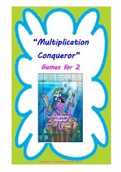 Multiplication Conqueror - Printable Multiplication game (