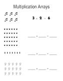 Multiplication Cookie Arrays!