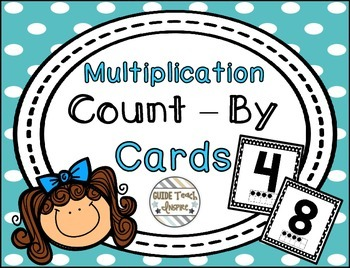 Multiplication Count-By Cards