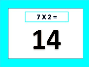 Multiplication Counting (7's)