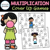 Multiplication Cover Up Games