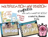 Multiplication Craftivities with Laura Numeroff books