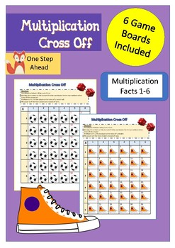 Multiplication Cross Off Game - Sampler!