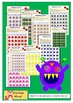 Multiplication Cross Off Game Pack - Monsters (Facts 1-6)
