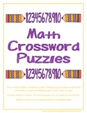 Multiplication Crossword Puzzles