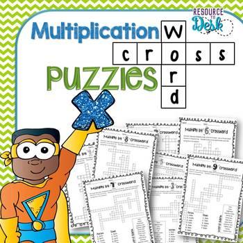 Multiplication Crossword Puzzles