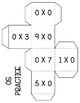Multiplication Cubes Freebie
