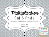 Multiplication Cut & Paste for Upper Elementary