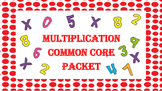 Multiplication, Arrays, Rows, Columns, Problem Solving (Common Core)